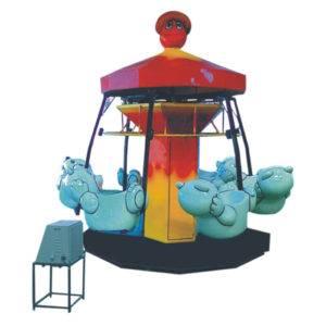 Panda Merry Go Round Ride
